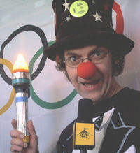 """The Circus Olympics"" with Julian the Juggler (c) Julian the Juggler"