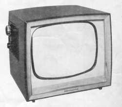 I can remember when TVs were made of wood.